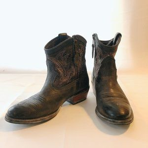 Ariat Billie Distressed Ankle Boots